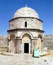 Мястото на Господнето Възнесение на Елеонската гора в Йерусалим