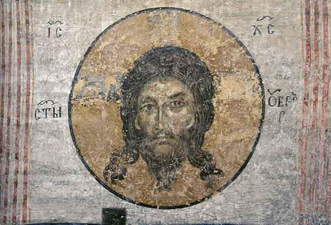 Светият Убрус - неръкотворният образ на Христа.